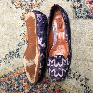 Missoni Shoes - Missoni purple flats size 6